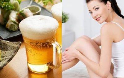 Lợi thế bất ngờ của Bia đối với phụ nữ – Bia là mỹ phẩm tuyệt vời dành cho phụ nữ